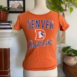 Junk Food Denver Broncos | Boys Sports t-shirt L
